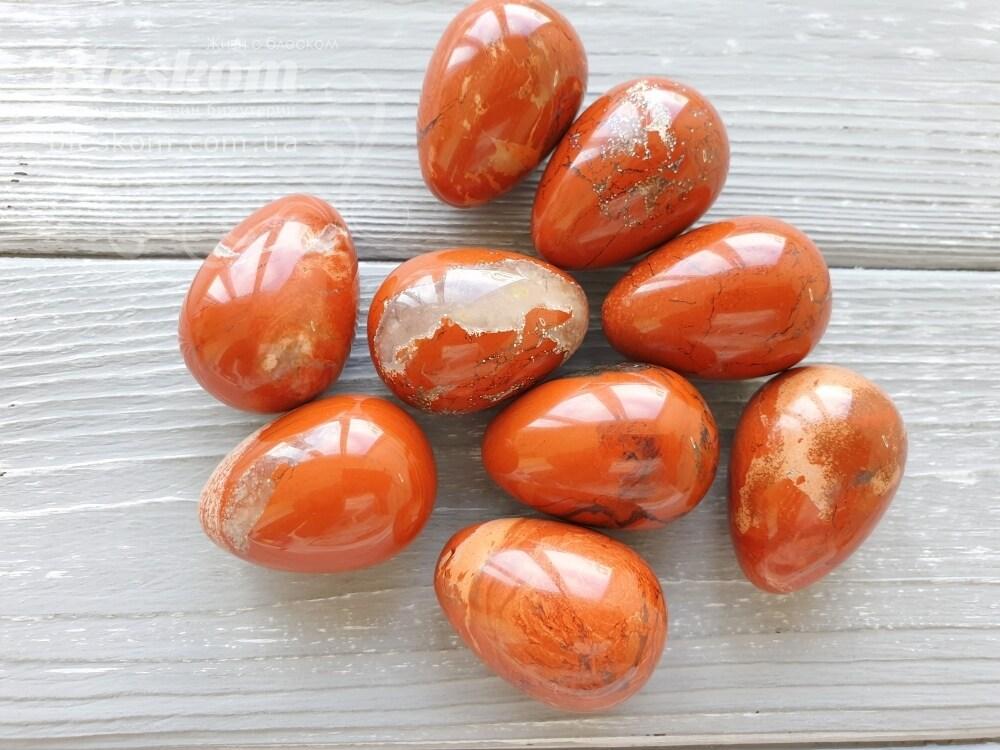 Яшма яйцо, натуральное 2-328 - купить в Украине оптом и в розницу | bleskom.com.ua