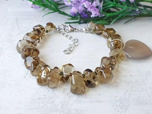 Браслеты из натуральных и полудрагоценных камней