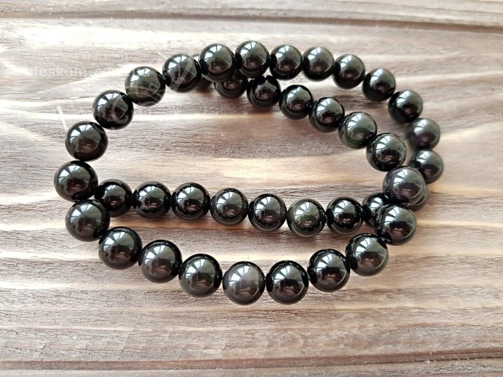 Набор бусин из натуральных камней для браслетов оптом