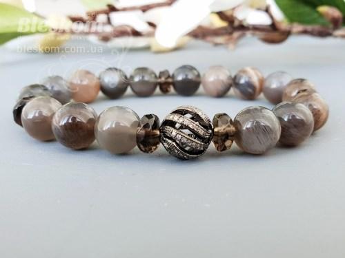 Подвески на браслеты из натуральных камней